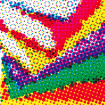 Halftone dots example