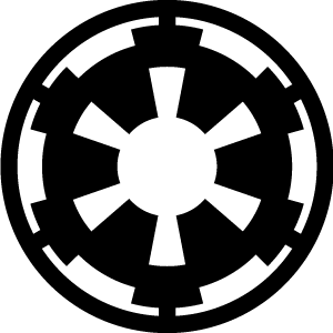 Star Wars Galactic Empire Insignia Logo Art