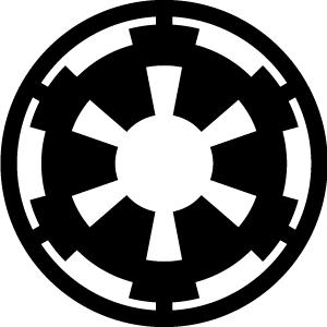 Star Wars Galactic Empire Insignia Logo Art
