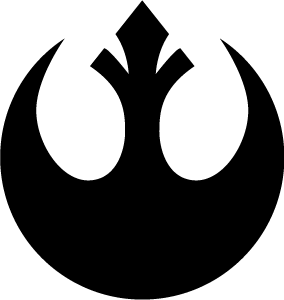 Star Wars Rebel Alliance Insignia Logo Art