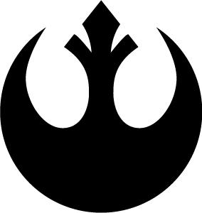 Star Wars Rebel Alliance Insignia Logo Art