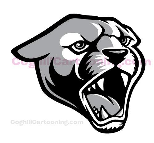 coghill-perry-puma-mascot-gray1