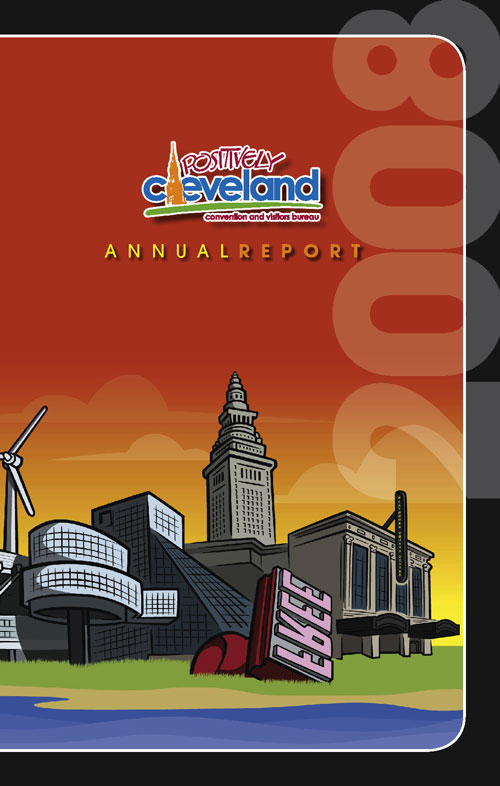 Positively Cleveland 2008 Annual Report cover