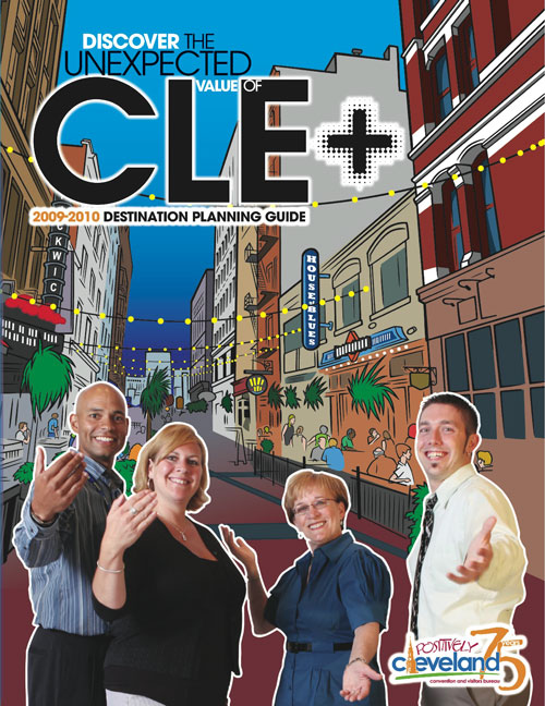 Positively Cleveland Destination Guide cover