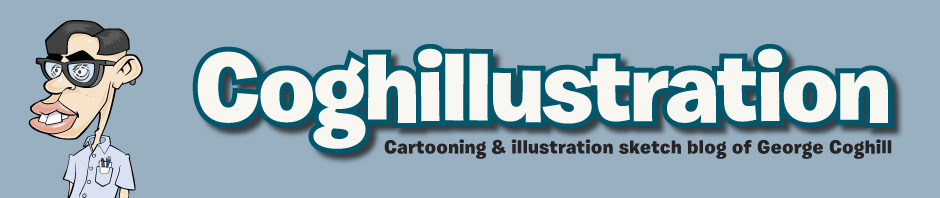 Coghill Cartooning artist, cartooning & illustration blog