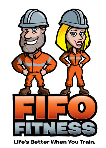 FIFO Fitness alternate logo concept by George Coghill