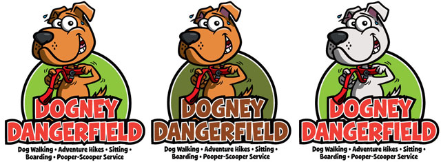 dogney-dangerfield-logo-variations