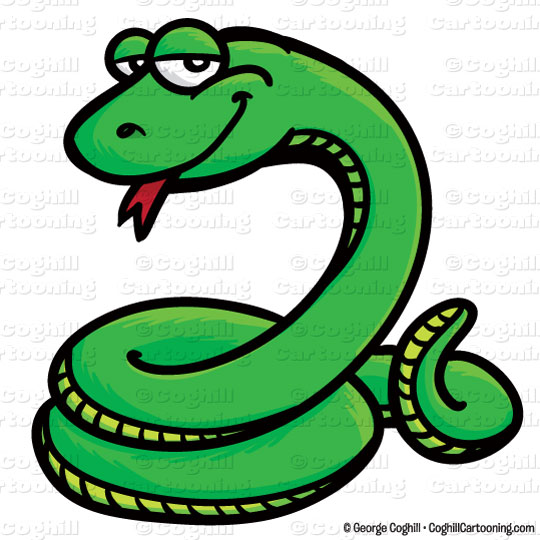 cartoon snake clip art stock illustration coghill cartooning rh blog coghillcartooning com reptile skin clipart reptile clipart black and white