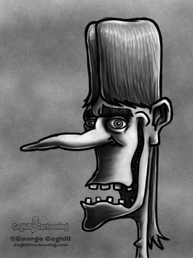 Weirdo 10 Cartoon Character Sketch