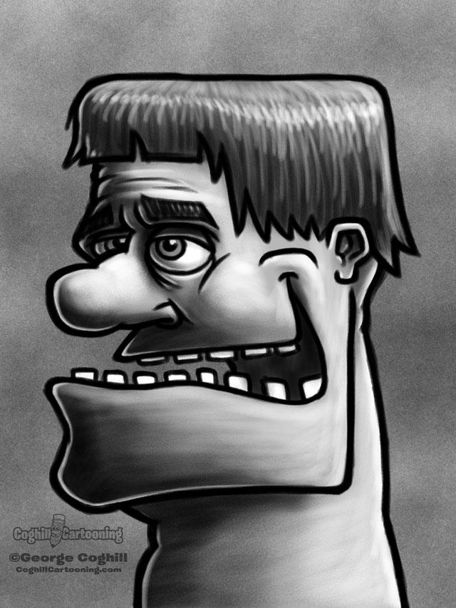 Weirdo 11 Cartoon Character Sketch