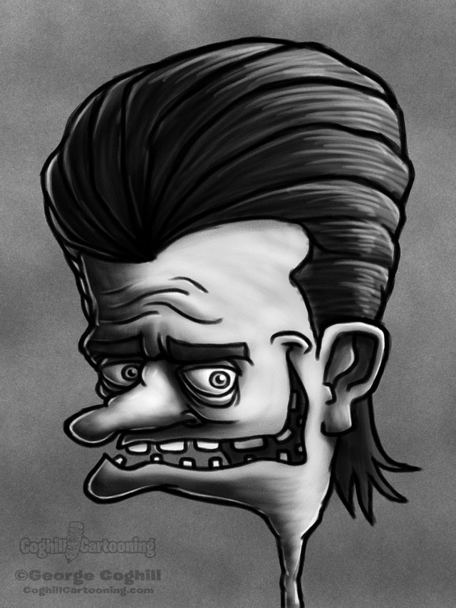 Weirdo 5 Cartoon Character Sketch