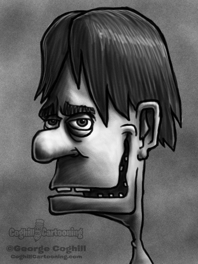 Weirdo 6 Cartoon Character Sketch
