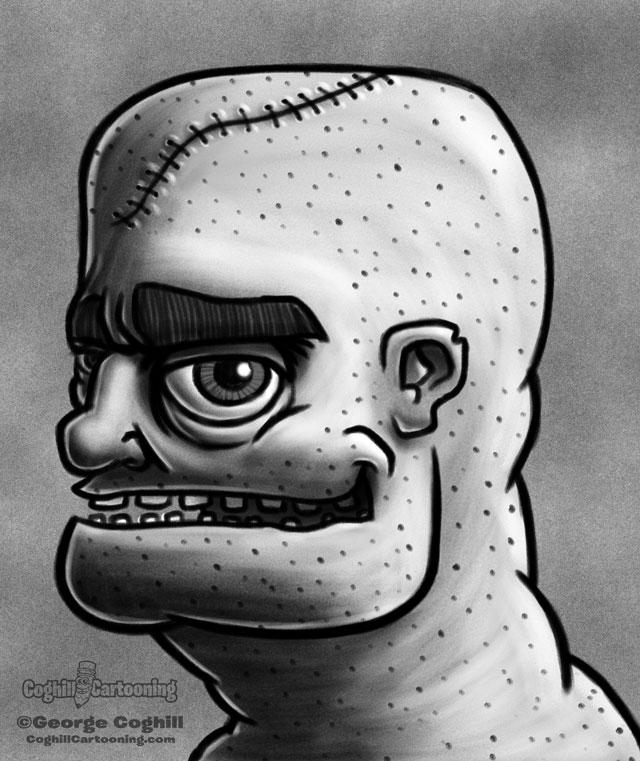 Weirdo 7 Cartoon Character Sketch