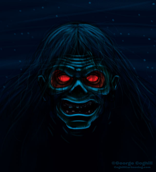 Boogeyman Cartoon Character Sketch