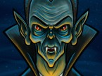 Vampire/Dracula Cartoon Character Sketch 02