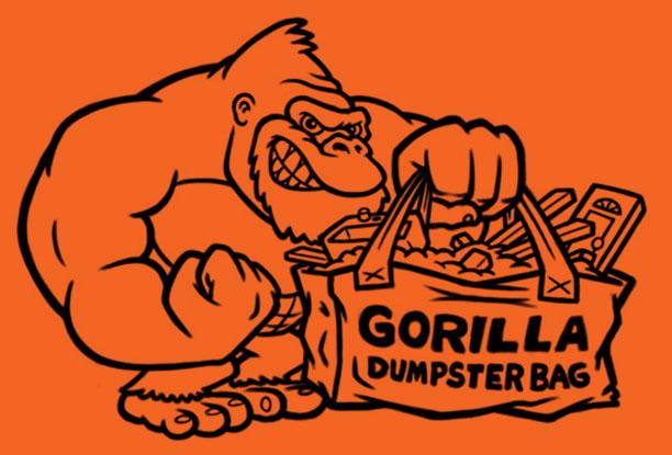 gorilla-dumpster-bags-cartoon-logo-illustration-no-color-sketch-coghill