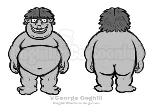 naked-gamer-cartoon-logo-sketch-front-back-coghill