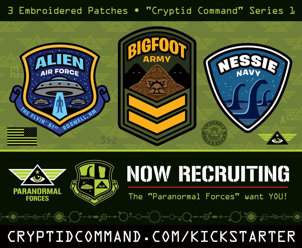 cryptid-command-bigfoot-nessie-ufo-aliens-embroidered-patch-kickstarter