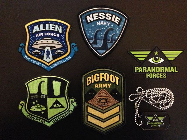 Cryptid Command Kit Patches Dog Tag