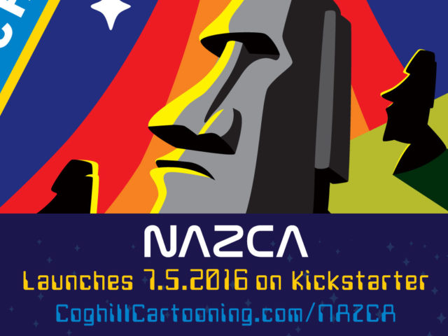 Easter Island patch set Kickstarter