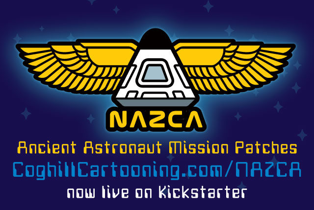 Nazca Winged Capsule Stretch Goal Patch