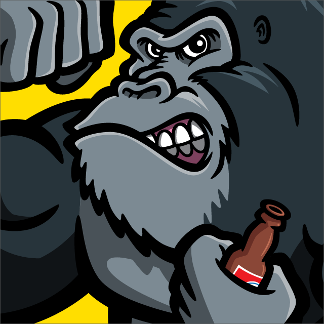Gorilla Beer logo thumbnail