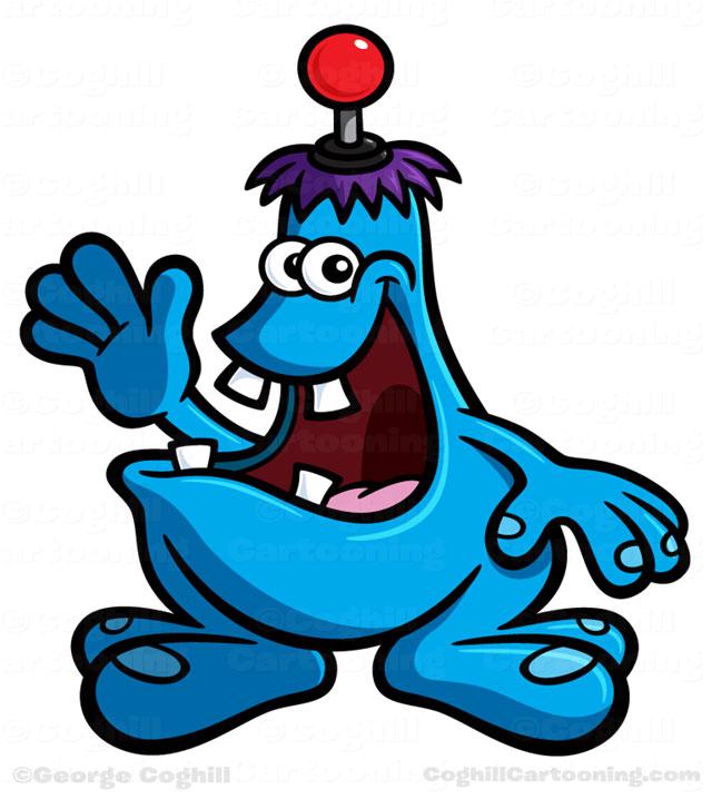 Zuhu.com Cartoon Creature Character Design by George Coghill