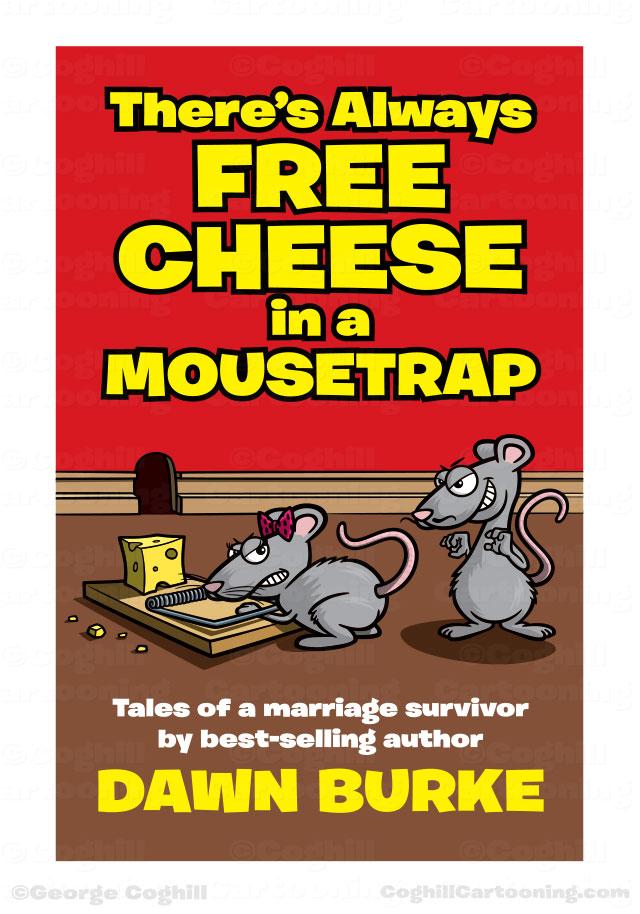 Cartoon cartoon mice free cheese mousetrap book cover illustration mice free cheese mousetrap