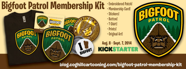 Bigfoot Patrol Kickstarter Header Image