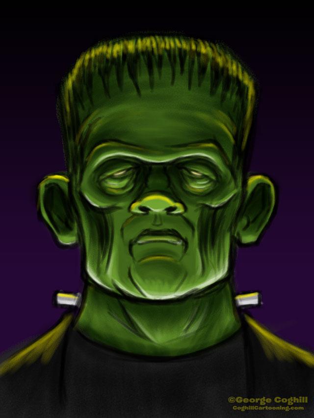Frankenstein's Monster Sketch 01