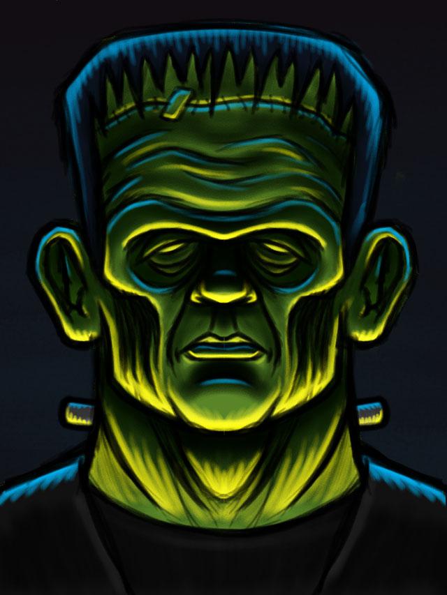 Frankenstein's Monster Sketch 02