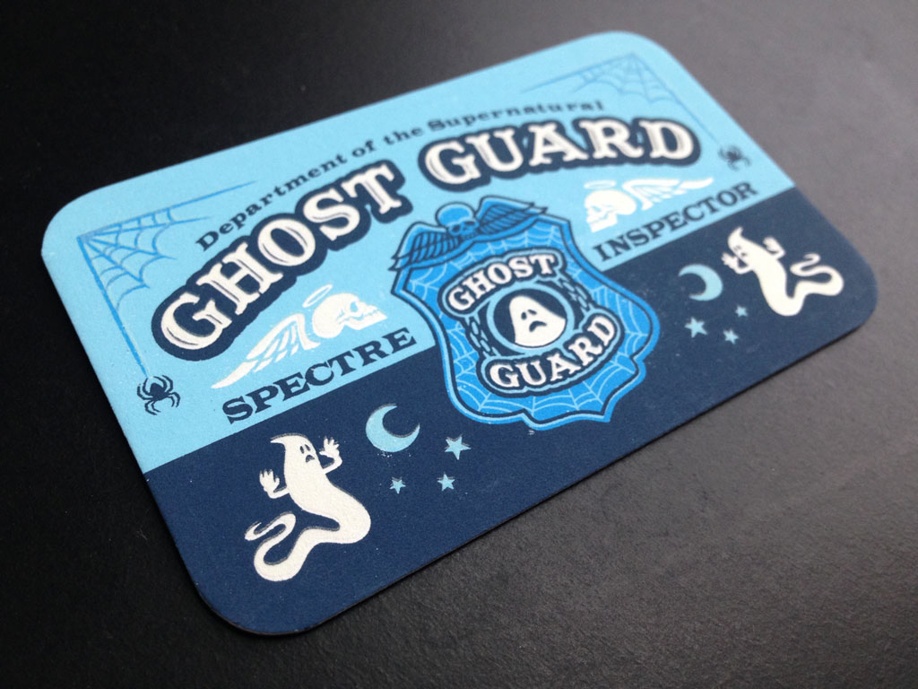 Ghost Guard ID Cards Design