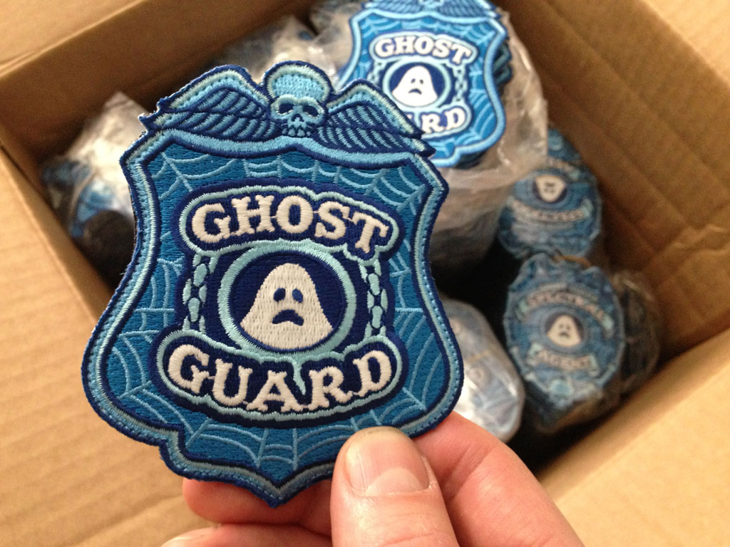 Ghost Guard Embroidered Patch Box