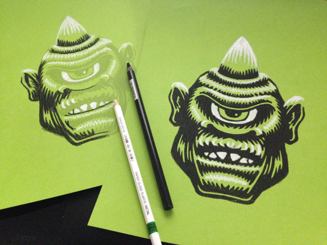 Cyclops Limited Palette Monster Head Prints Coghill